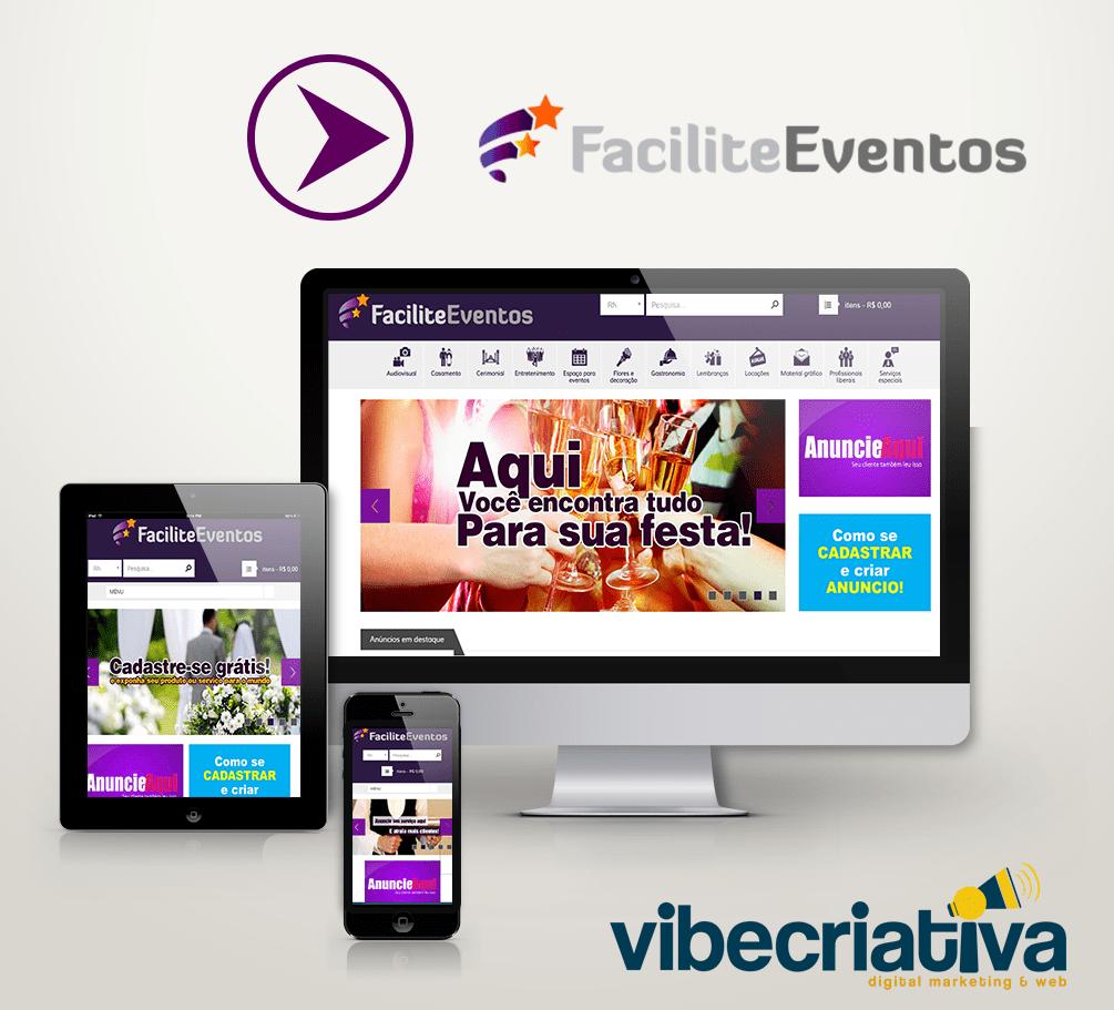 Facilite Eventos - Anúncios de profissionais da área de eventos